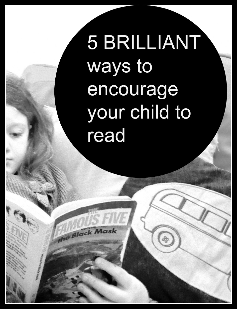 how to encourage your child to read and write