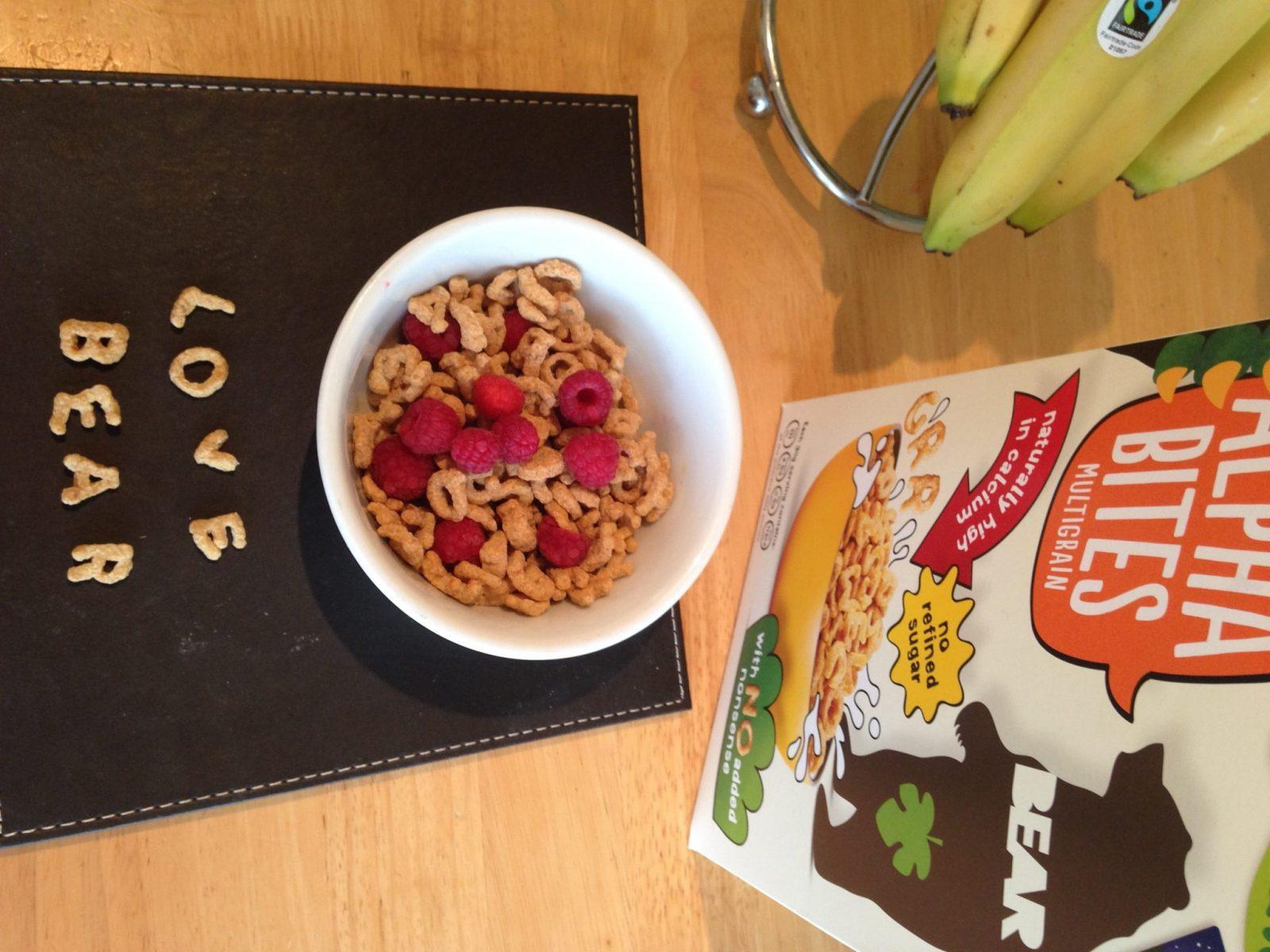 A breakfast kids will love that has no refined sugar