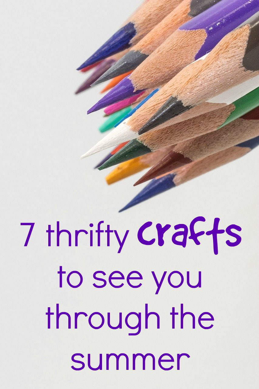 7 thrifty craft ideas to see you through the summer