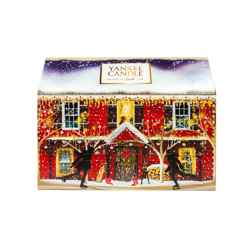 Yankee Candle Advent House Calendar