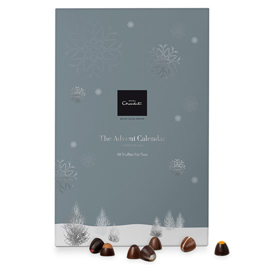 Win a Hotel Chocolat advent calendar for two.