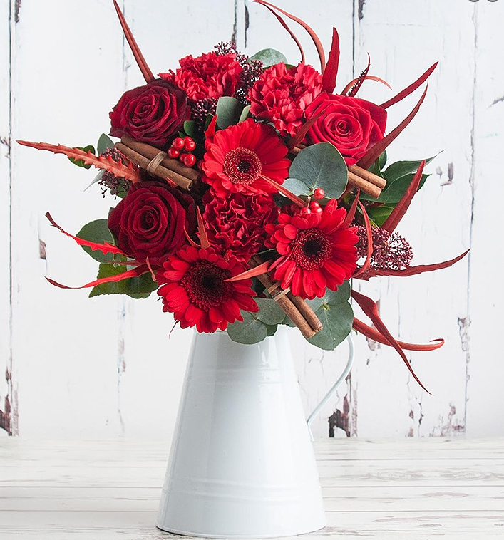 Win a Gorgeous Christmas Flower Delivery