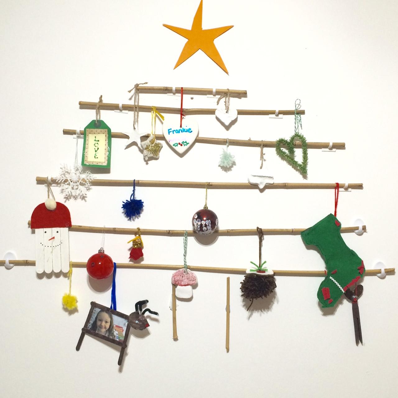 Our Homemade Christmas Tree