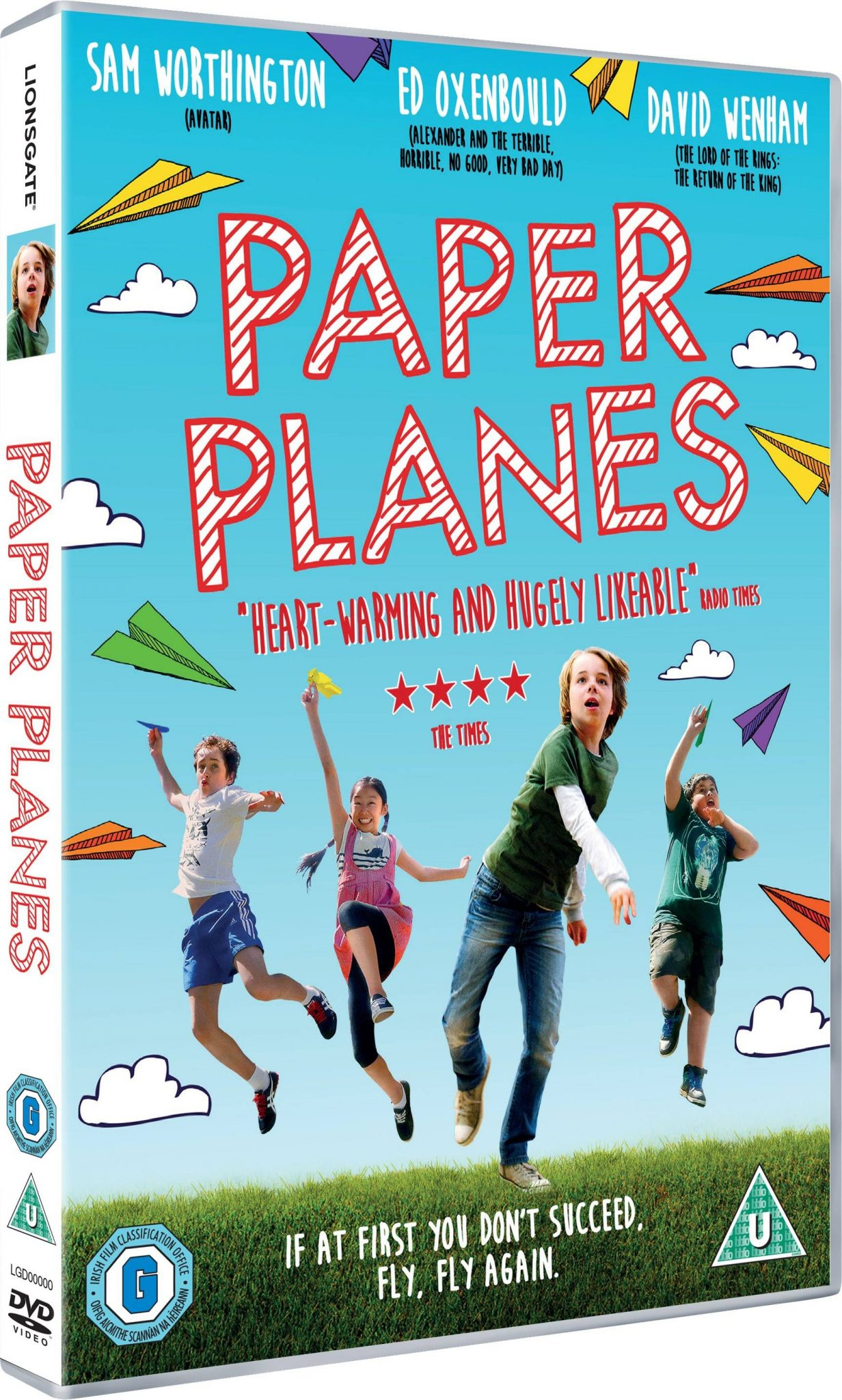 Paper Planes DVD Giveaway