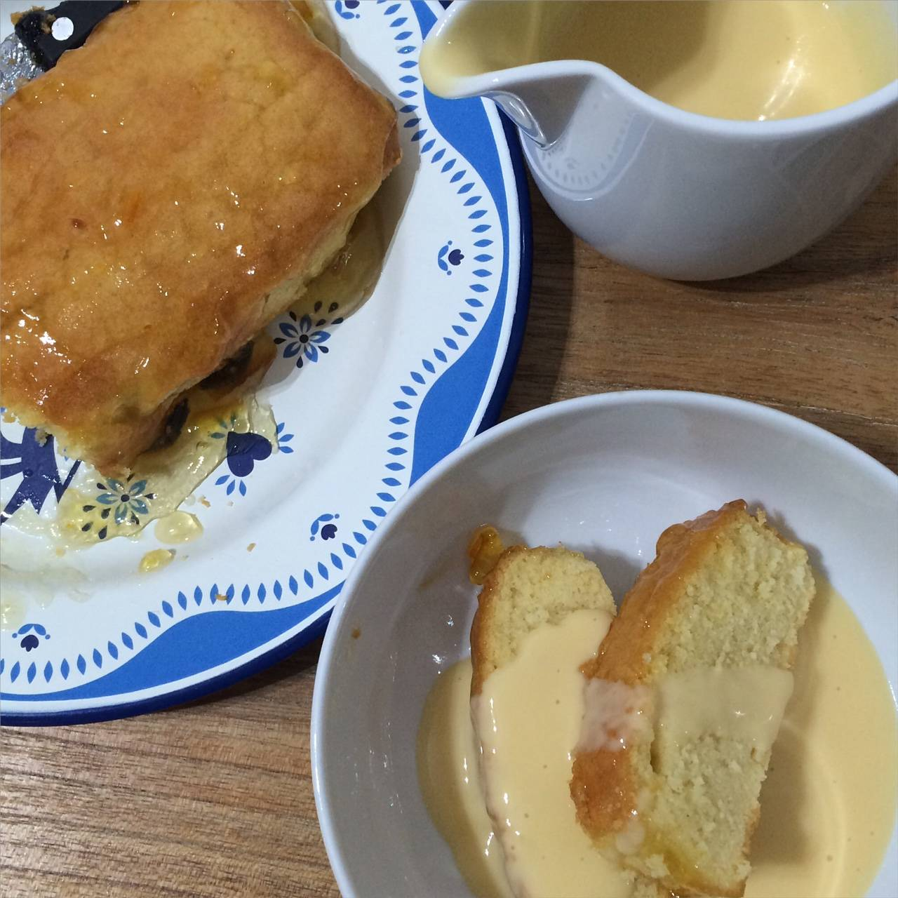 Ginger and Marmalade Sponge