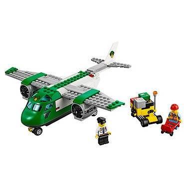 Lego City Airport Cargo Plane Review