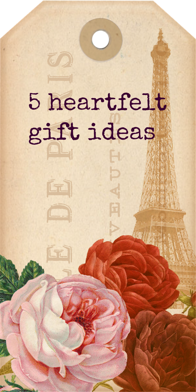 5 heartfelt gift ideas