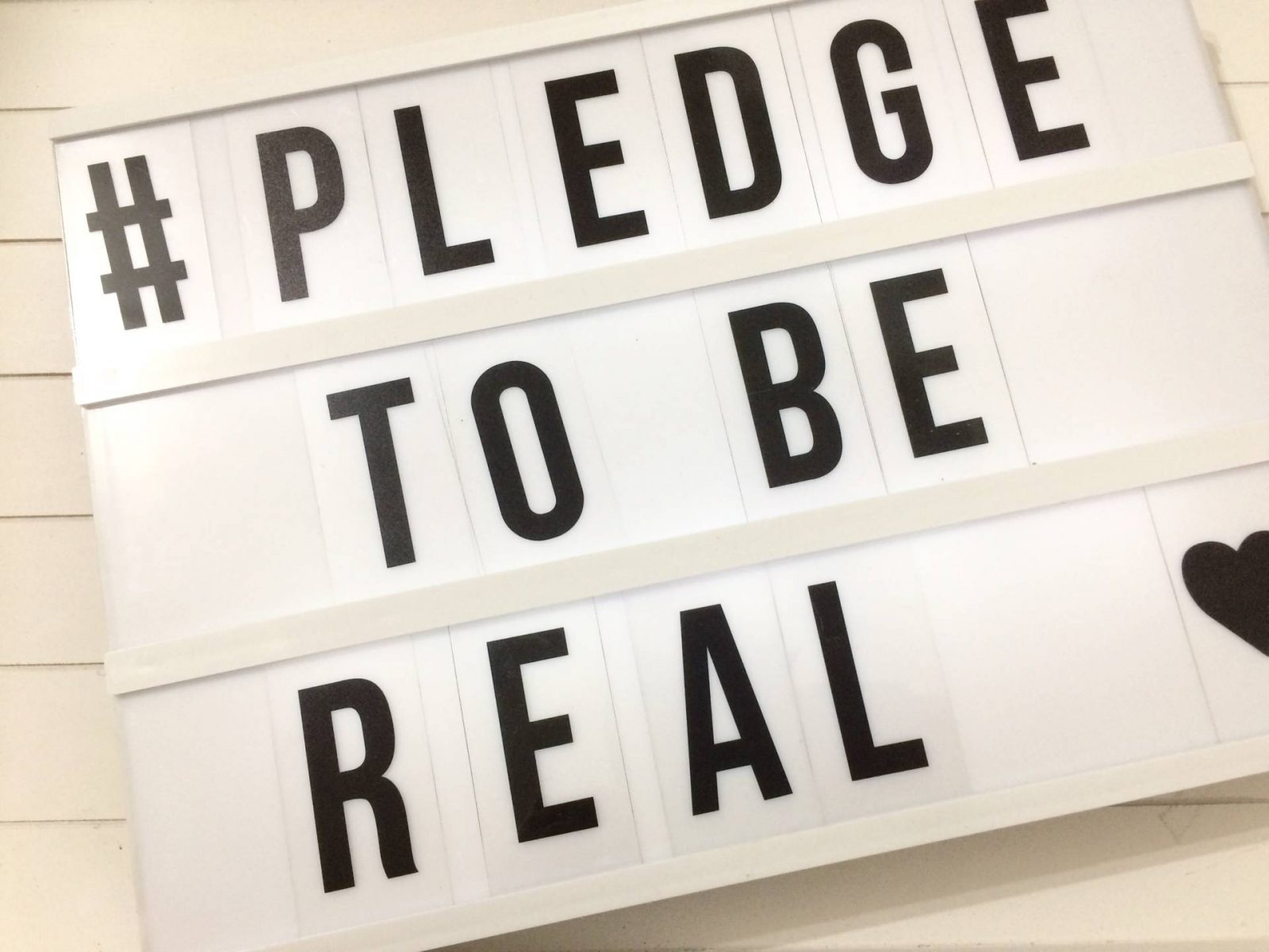 Why we MUST pledge to be real #SponsoredbyDove