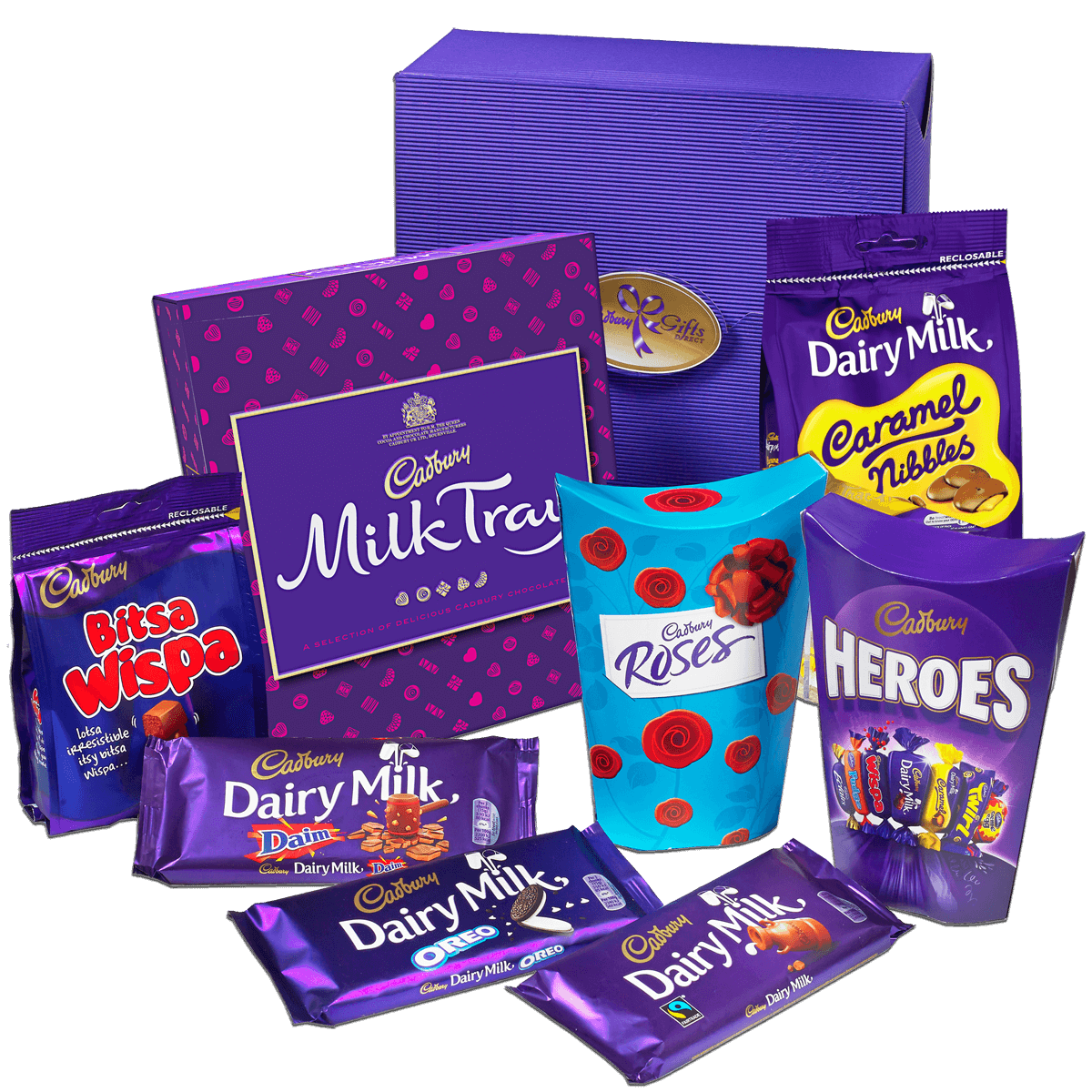 Win a Cadbury Combination Hamper of Chocolate