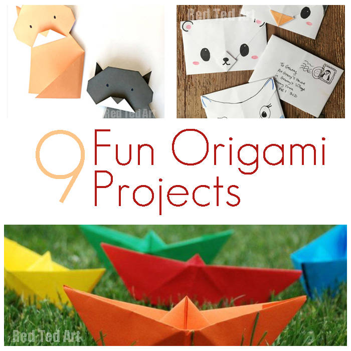 9 fun origami projects