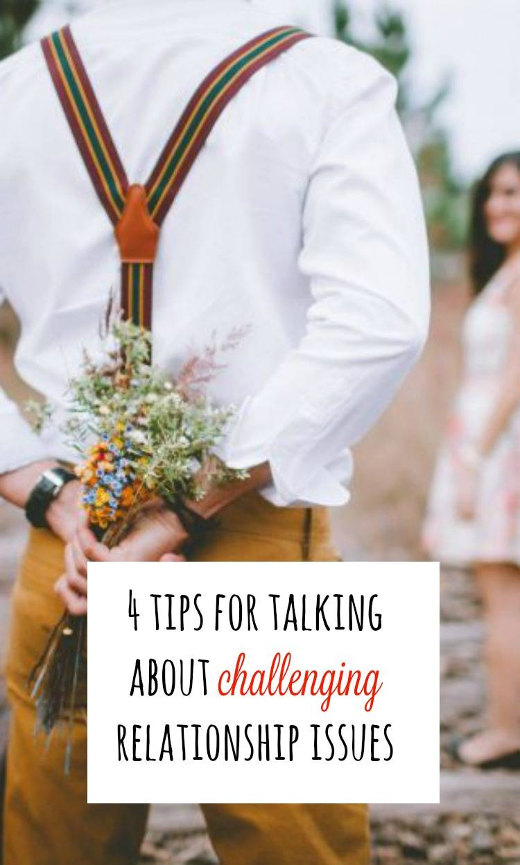 talking about challenging relationship issues
