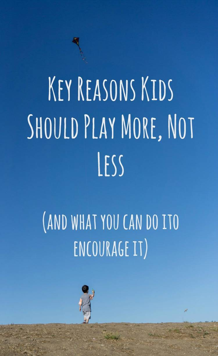 Not Just Fun and Games: Key Reasons Kids Should Play More, Not Less