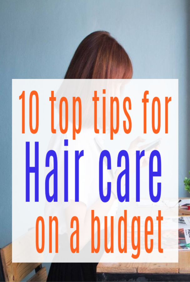 hair care on a budget
