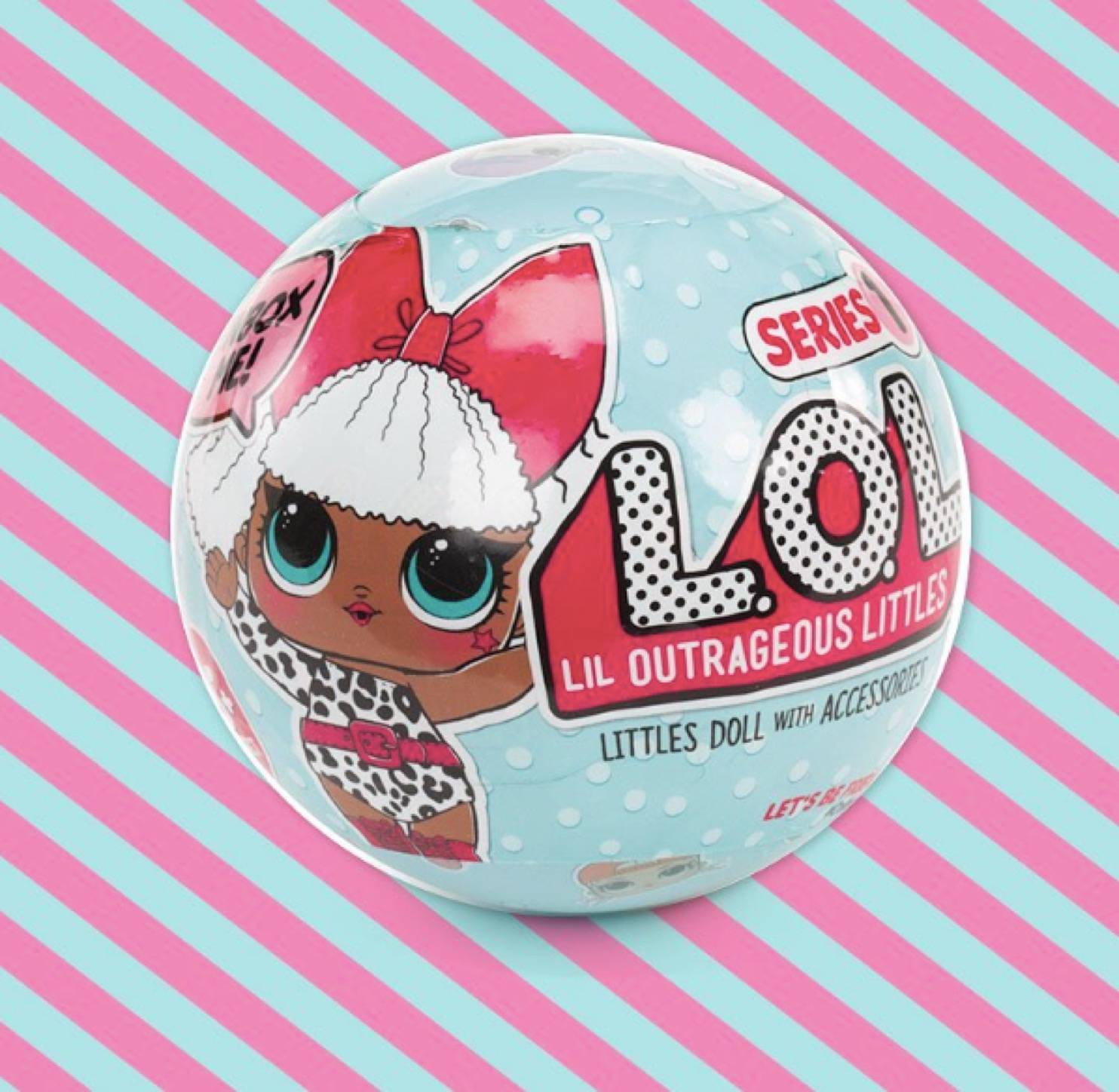 2 chances to win an L.O.L Surprise Doll