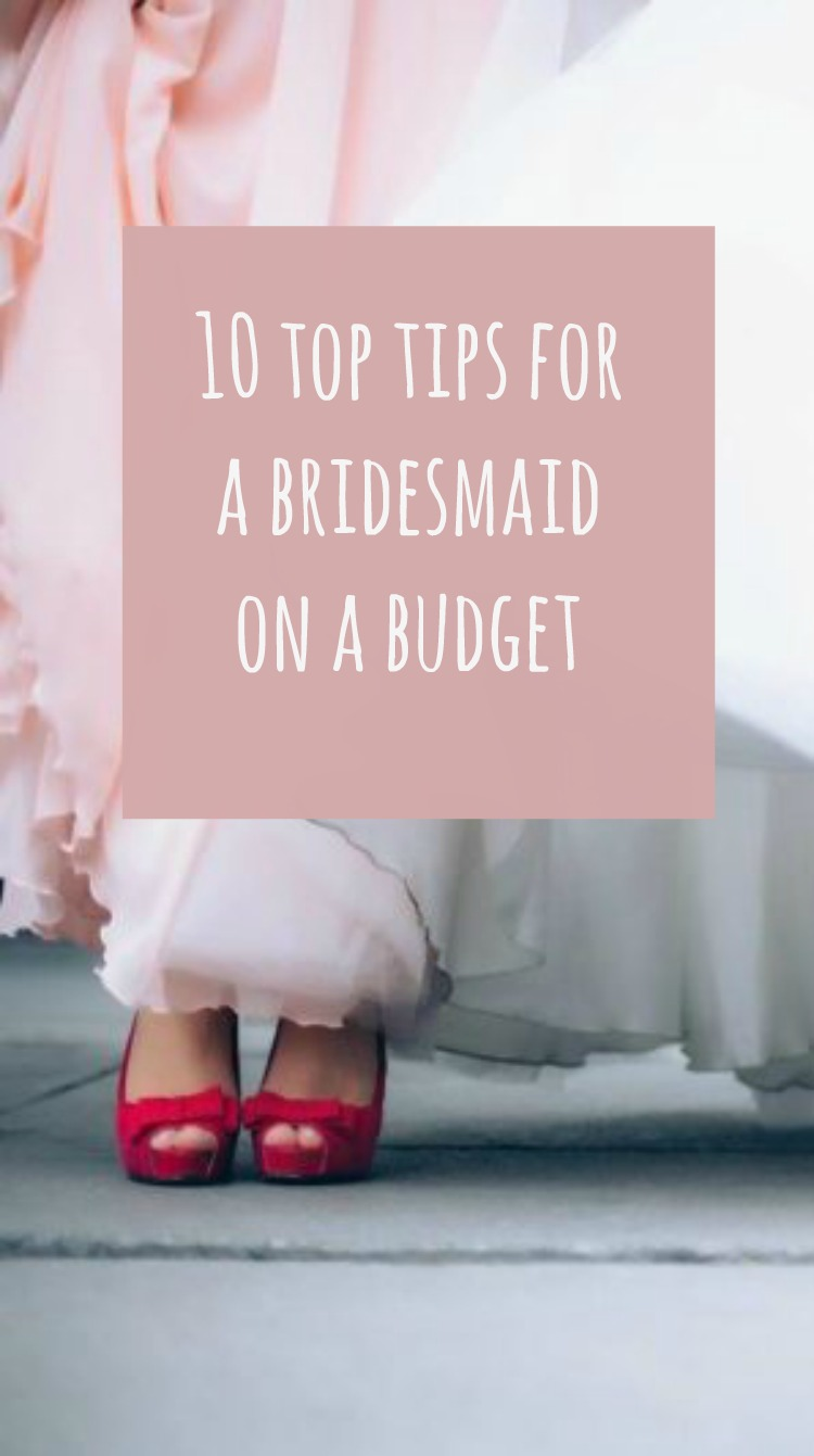 bridesmaid on budget