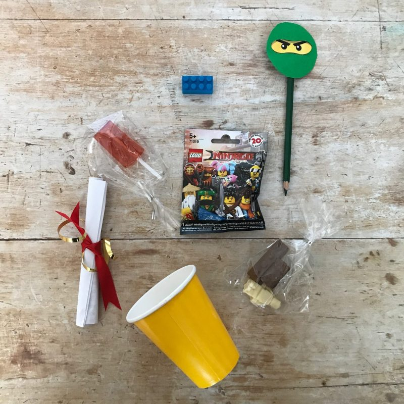 Ninjago favor bag, Ninjago treat bag, Ninjago party bag,Ninjago Party Ideas, DIY lego ninjago party
