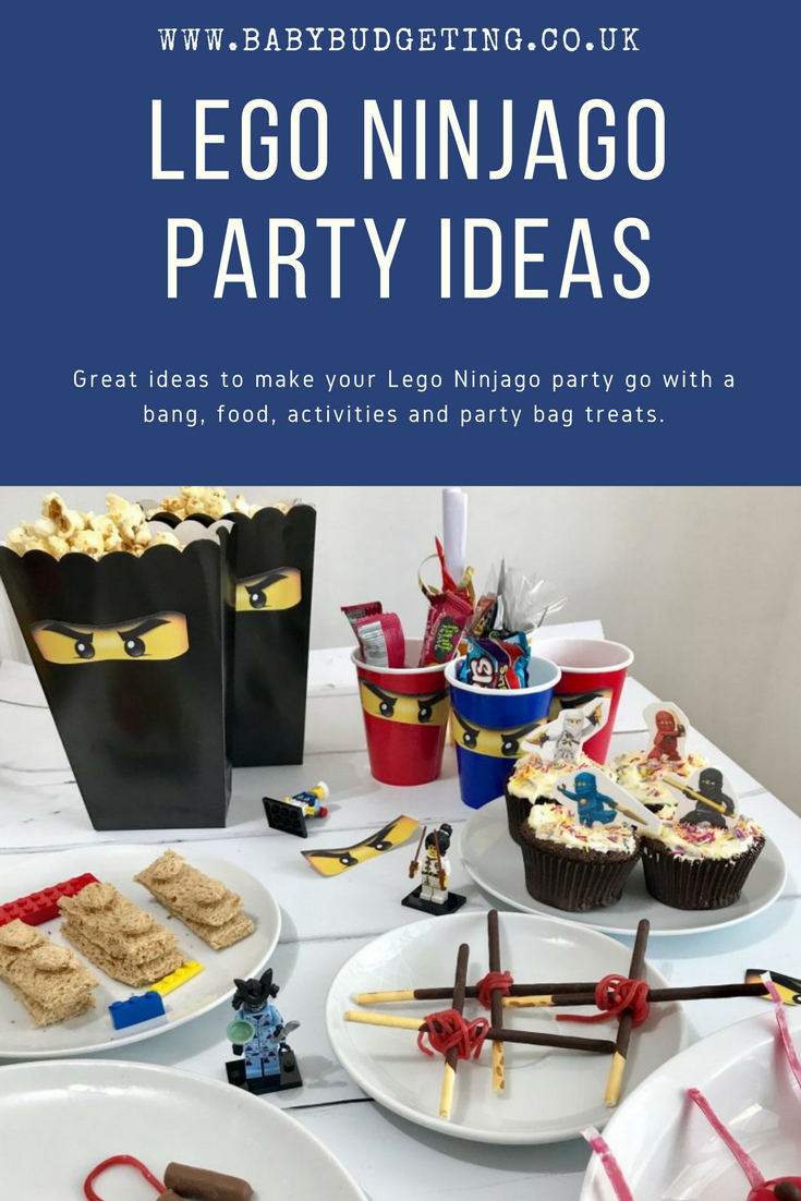 Lego Ninjago Party Ideas, ninjago party ideas, DIY lego ninjago party ideas
