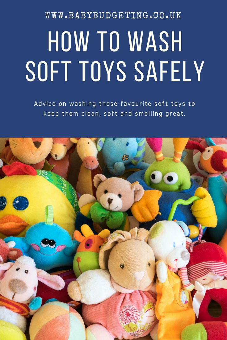 How to wash soft toys safely