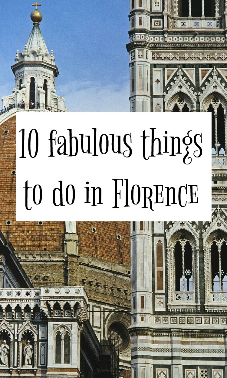 10 wonderful things to do in Florence