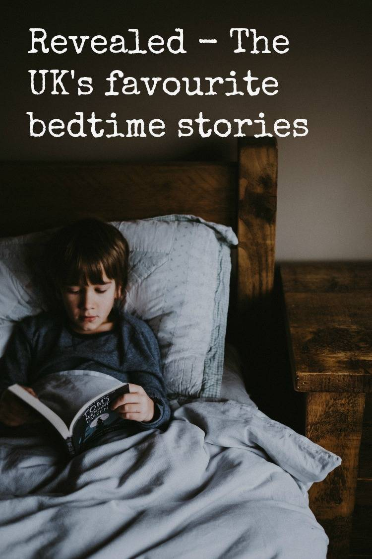 The UK's favourite bedtime stories