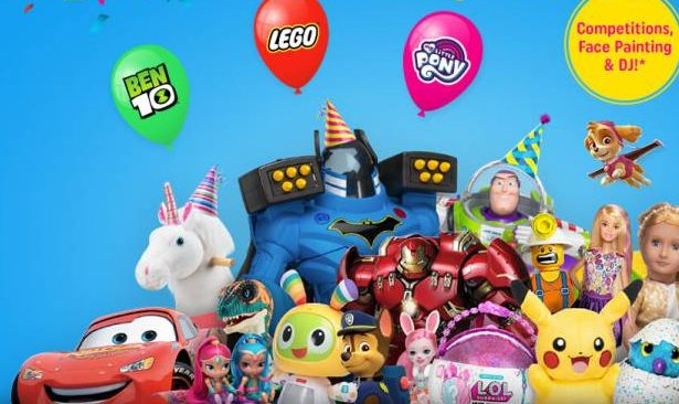 Party On at Smyths Toys on 26 May