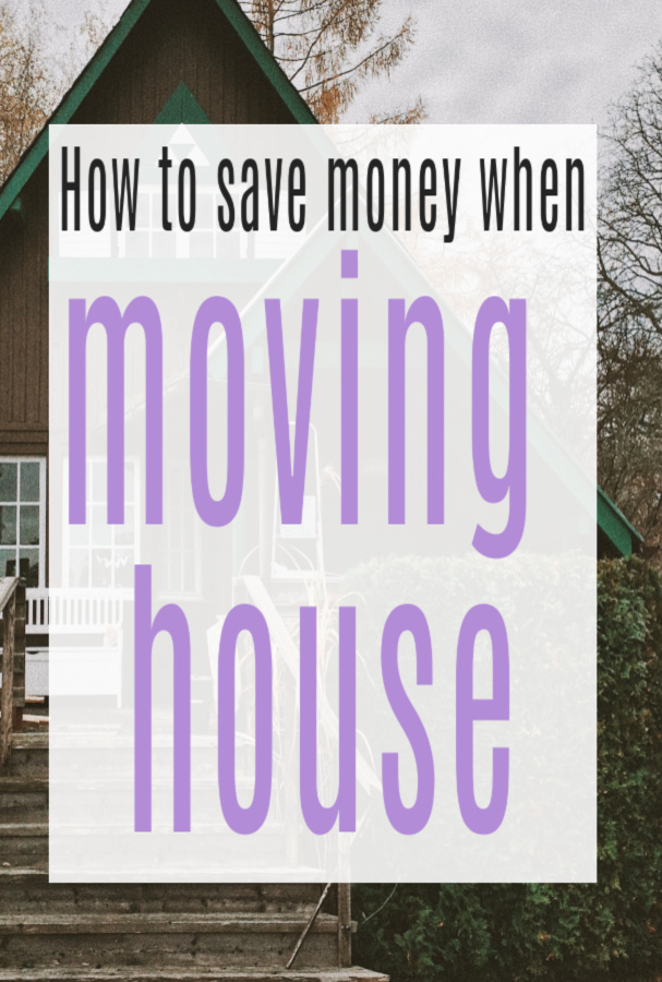 Saving Money When Moving House