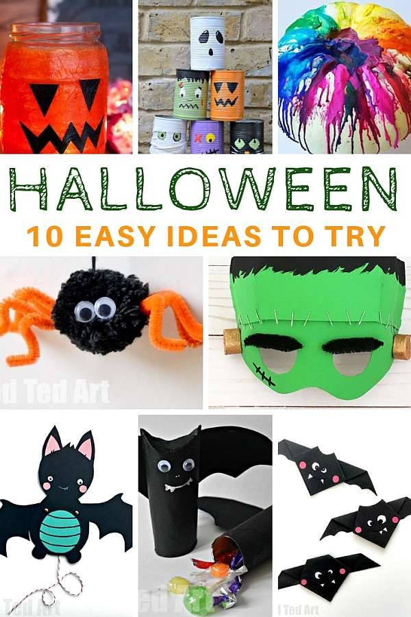Easy ideas for Halloween
