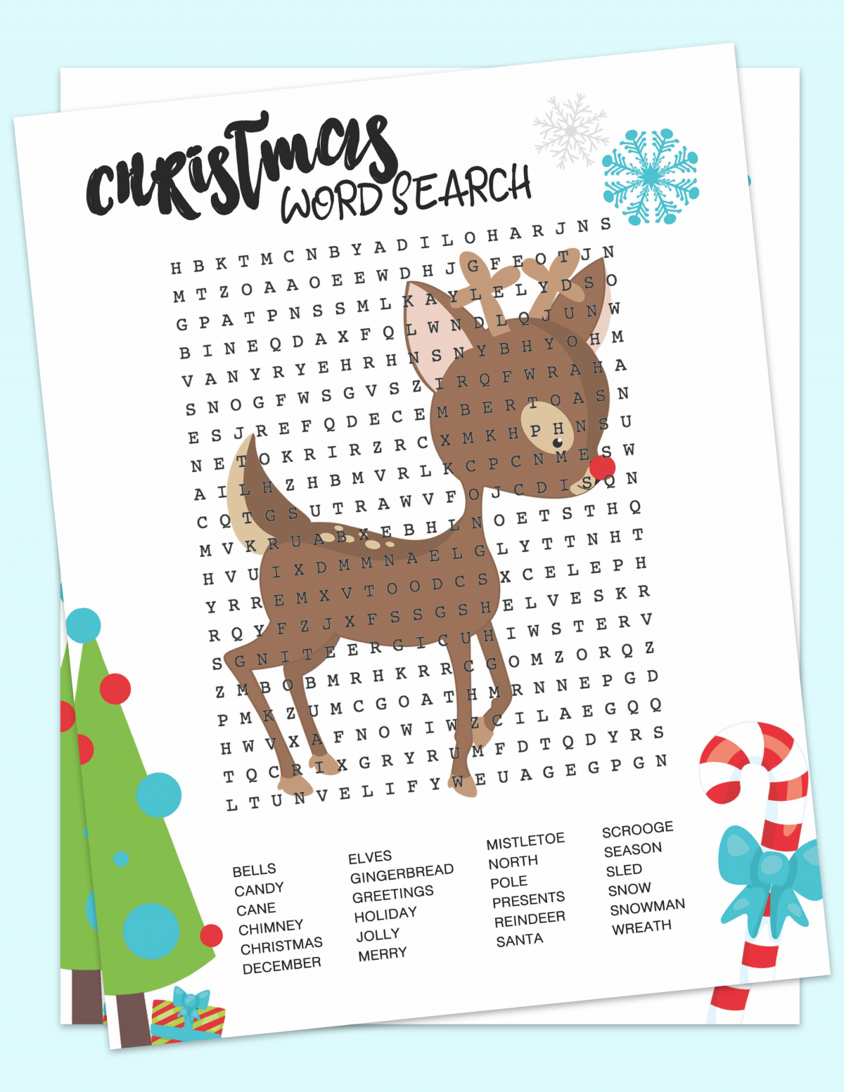 Rudolph Wordserch Free Printable, christnas wordsearch, chrstmas wordsearch printable, Rudolph Wordserch