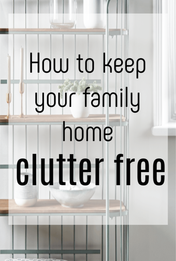 clutter free home with kids, it sounds impossible doesn't it. But if you are keen to declutter and create a calm interior for your family then these top decluttering tips really will help #konmari #declutter #clutterfree #decluttering