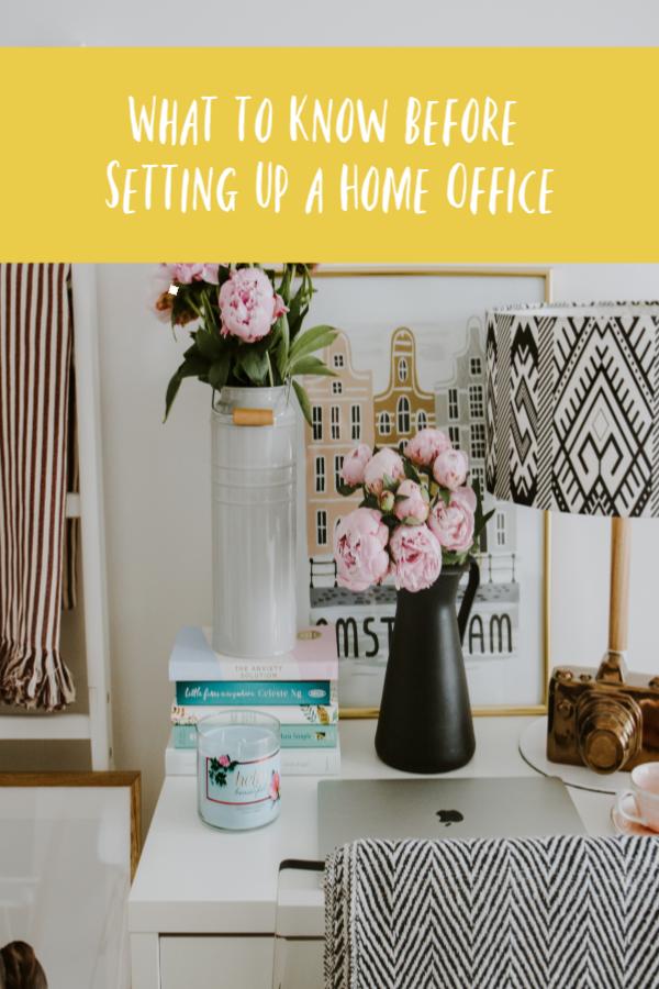 What to Know Before Setting Up a Home Office