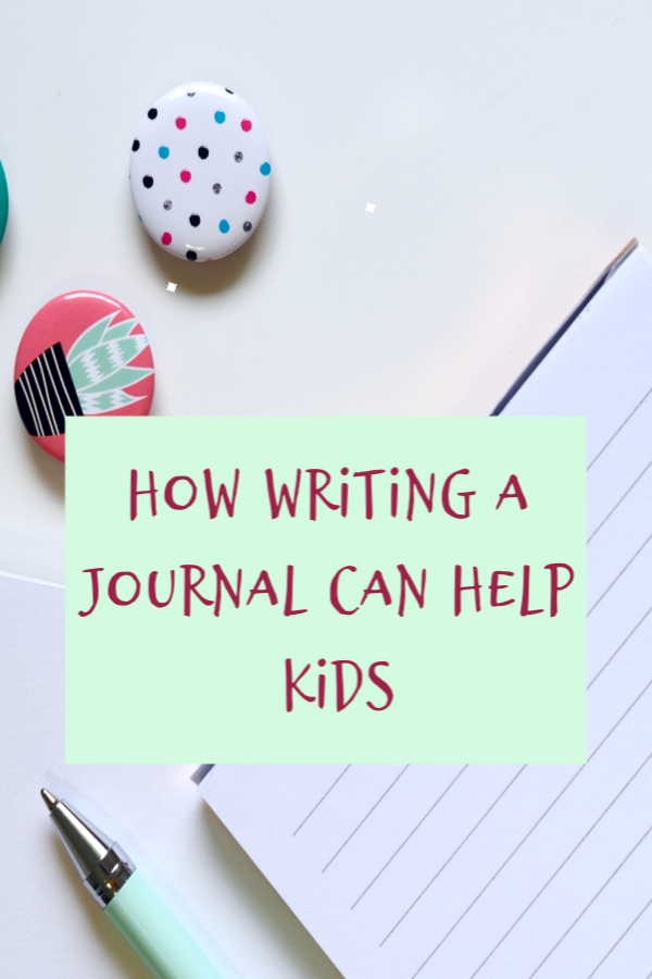 how writing a journal can help kids