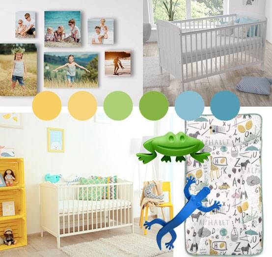 Nursery room renovation on a budget