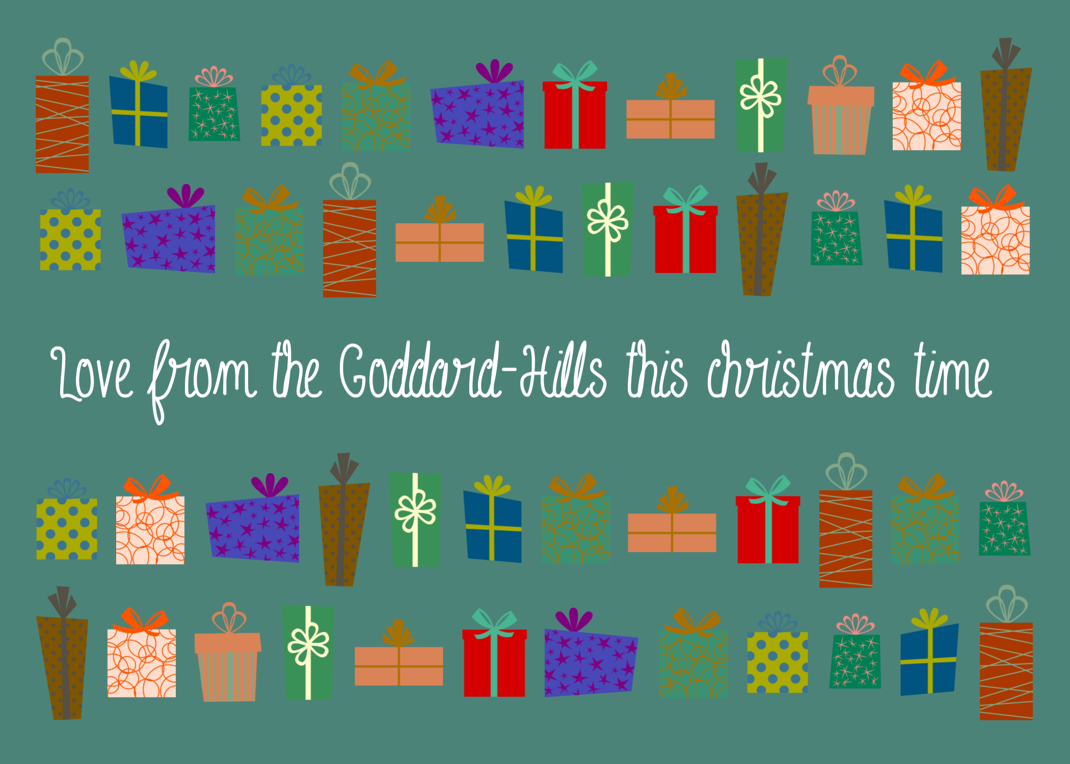 Free fonts for your Christmas Cards