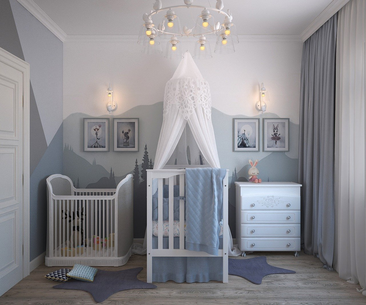 WHAT YOU HAVE TO KNOW WHEN DESIGNING A BABY ROOM