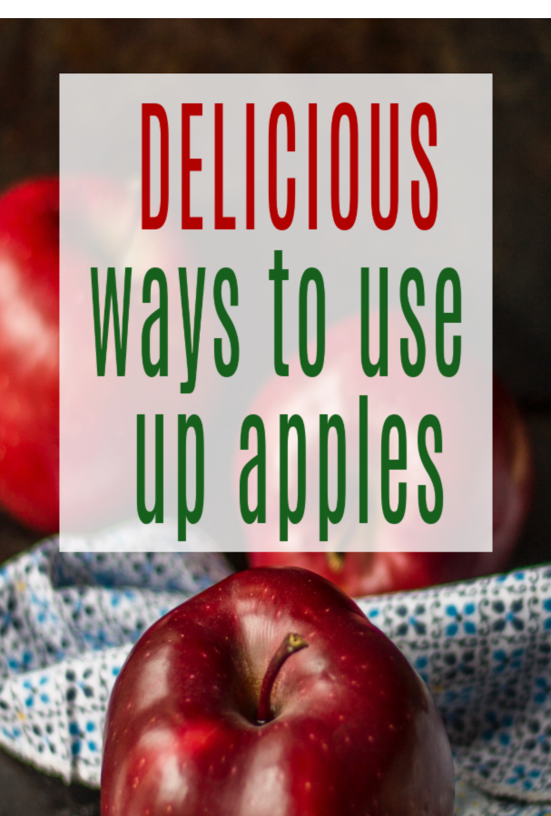ways to use up applease. unusual apple recipes