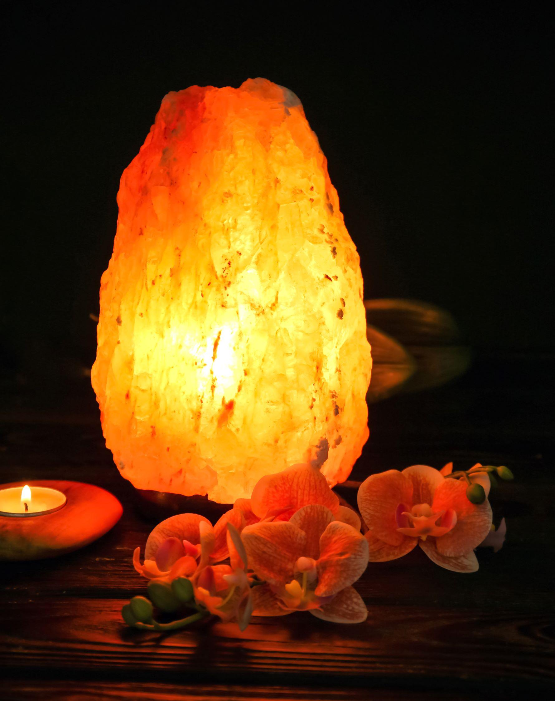 What is a salt lamp?