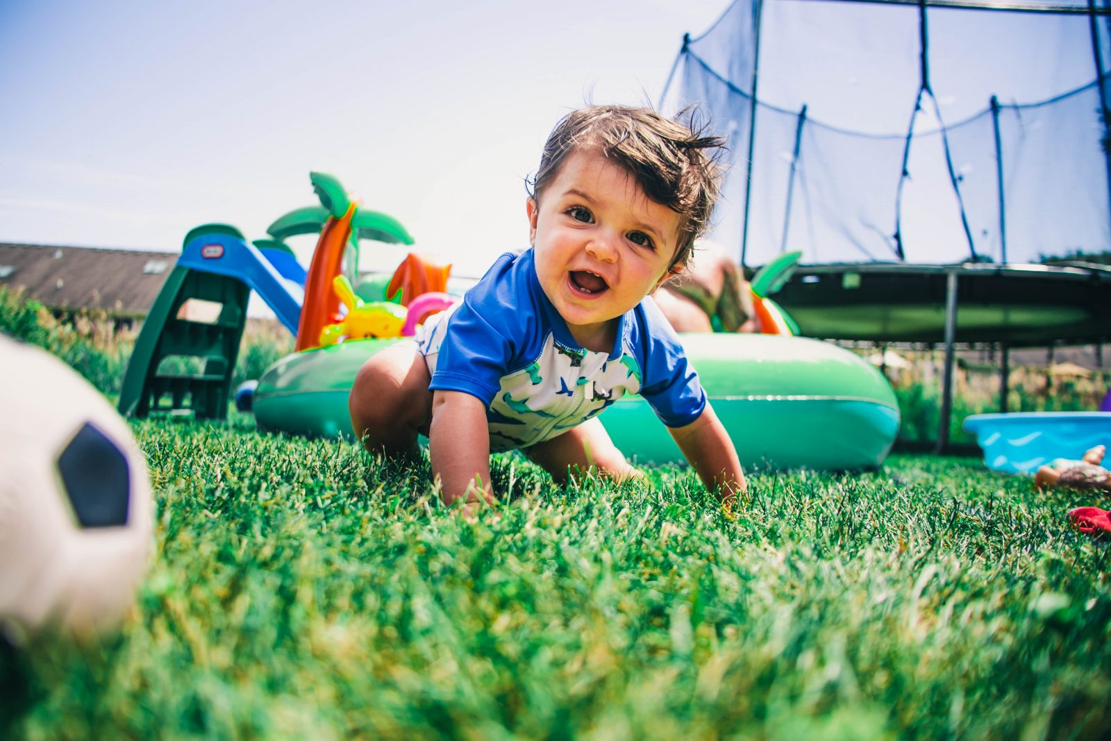 Is artificial grass child-friendly?